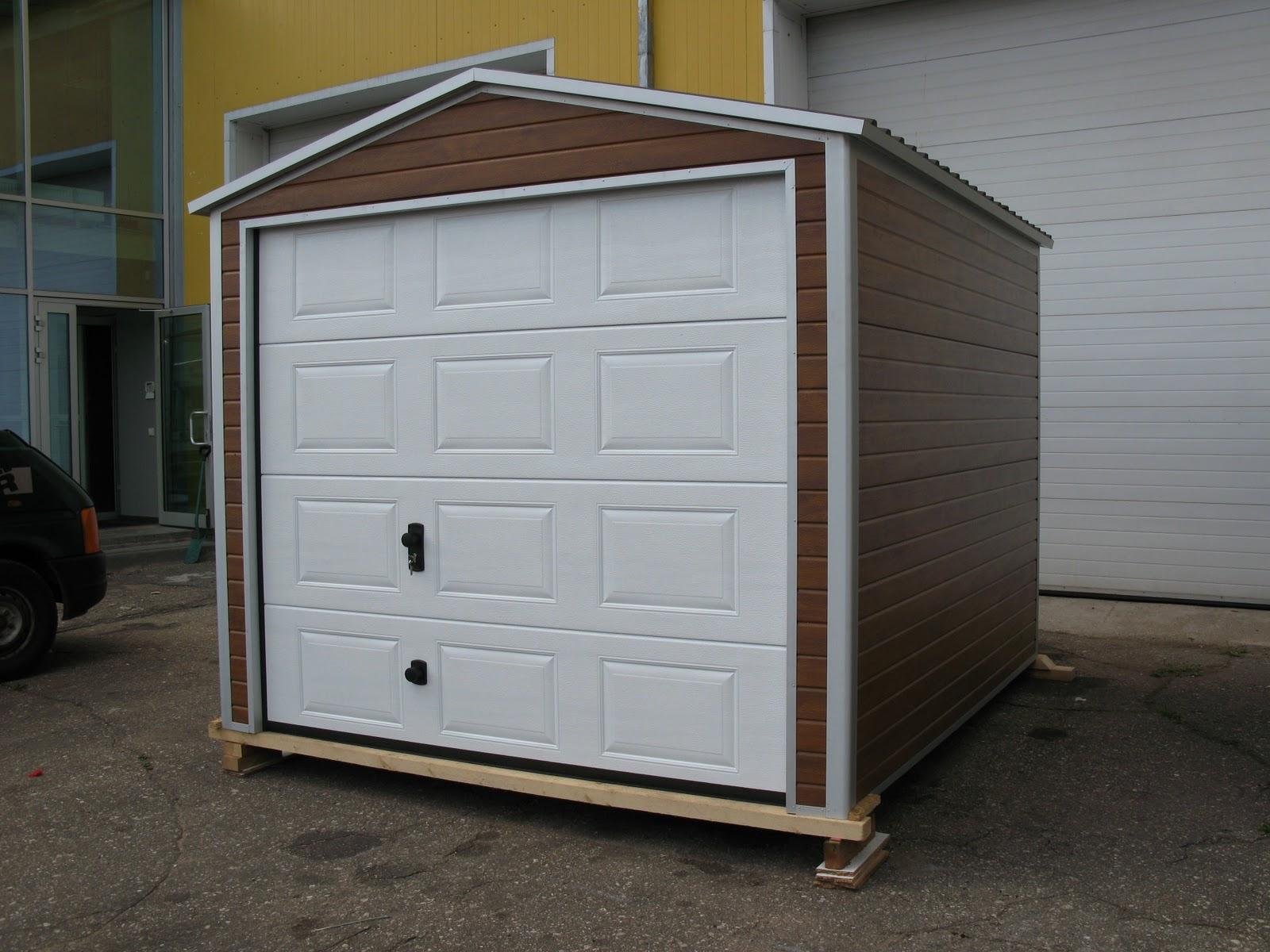 Diy garage or garden shed ryterna garage doors for Garden shed garage