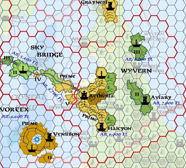 Mystara Alphatia Ar Wyvern Hex Map