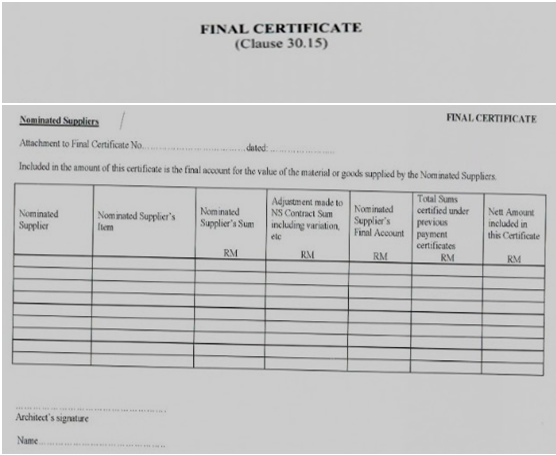 Certificate Of Making Good Defects Template