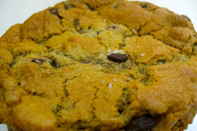 baked Brown Butter and Sea Salt Chocolate Chip Cookie