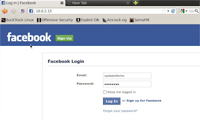 how to choose a web address for facebook page