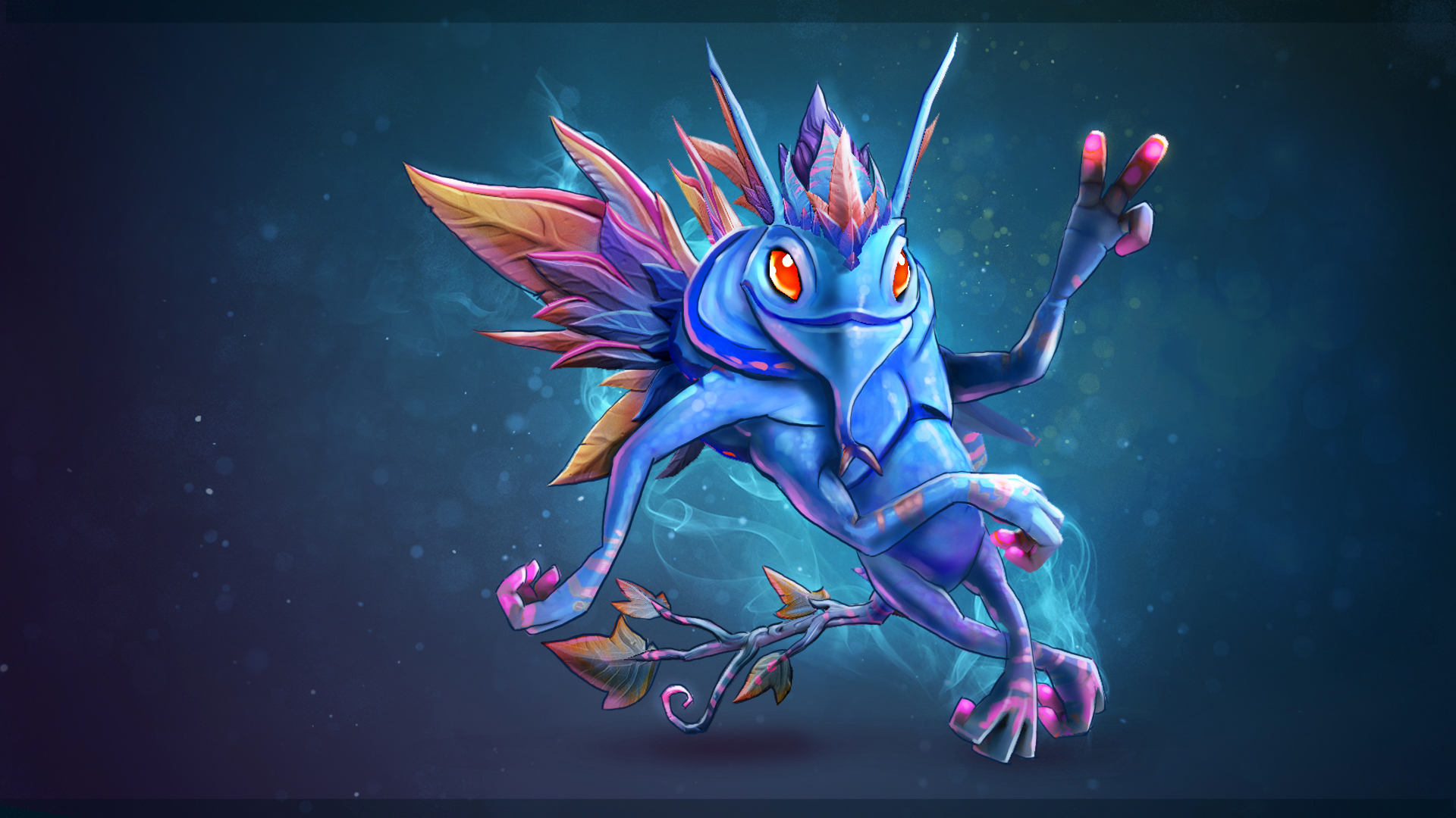 puck dota 2 wallpaper hd