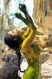 Foto Hot Dewi Persik di Film Pantai Selatan