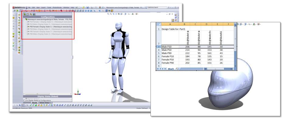 Comsolidworks Design Table : SolidWorks Education Italia: Alcuni suggerimenti sullutilizzo di ...