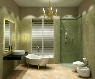 Modern Bathroom Design Ideas on Rumah Rumah Minimalis  Modern Bathrooms Best Designs Ideas