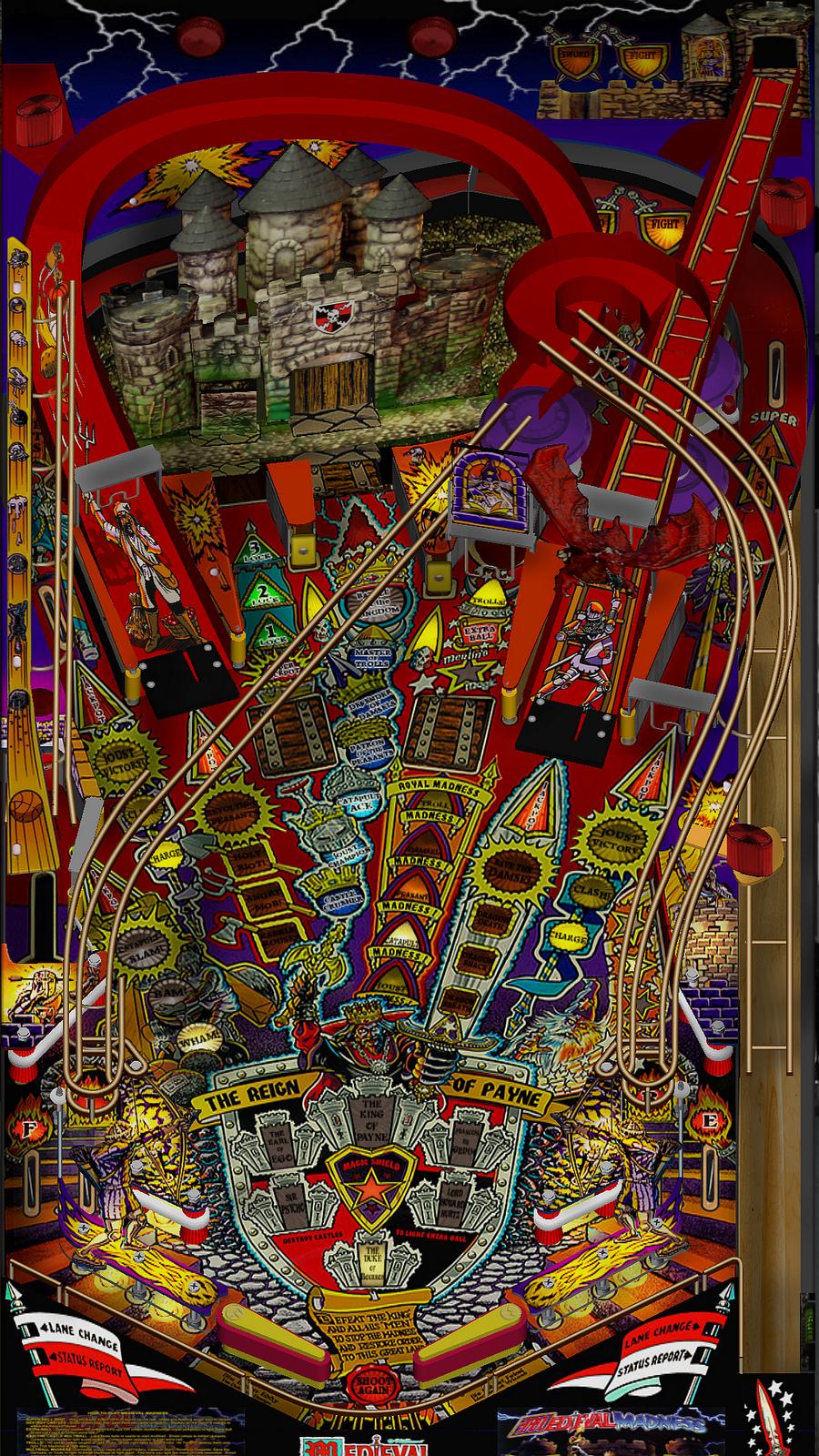 virtual pinball medieval madness