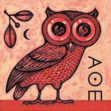 Owl from Greek mythology