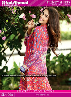 Gul Ahmed Trendy Shirts Midsummer Collection