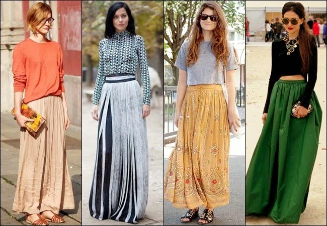 Длинные женские юбки: элегантная коллекция от