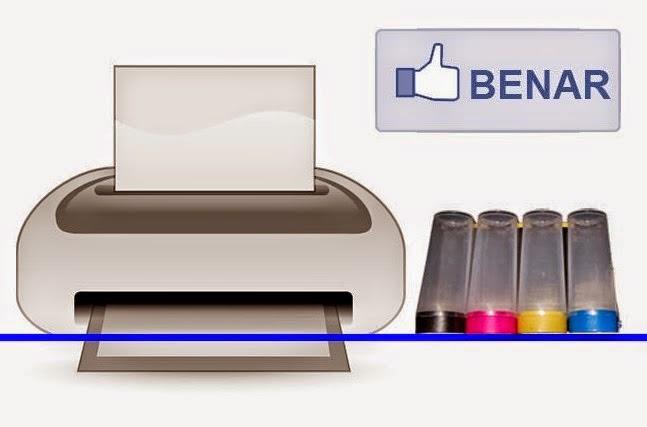 posisi meletakkan tabung infus printer