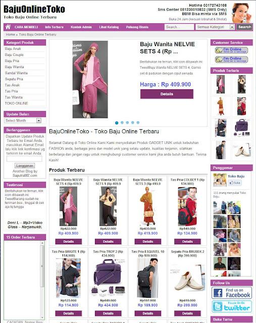Toko Online Jual Baju Terbaru