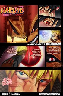 Naruto 698 Mangá Colorido leitura online