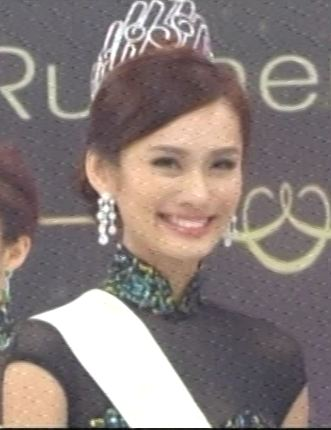 miss chinese international second runner up kuala lumpur malaysia lenna lim