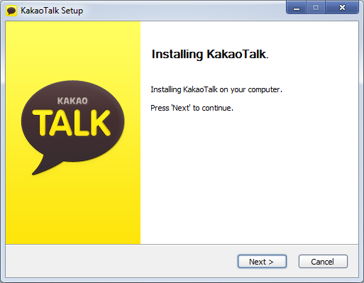 Download & Install KakaoTalk For PC