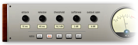 Plugin VST Compressor AC1