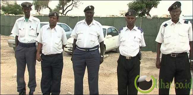 Somalia Police