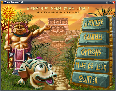 zuma deluxe online full screen