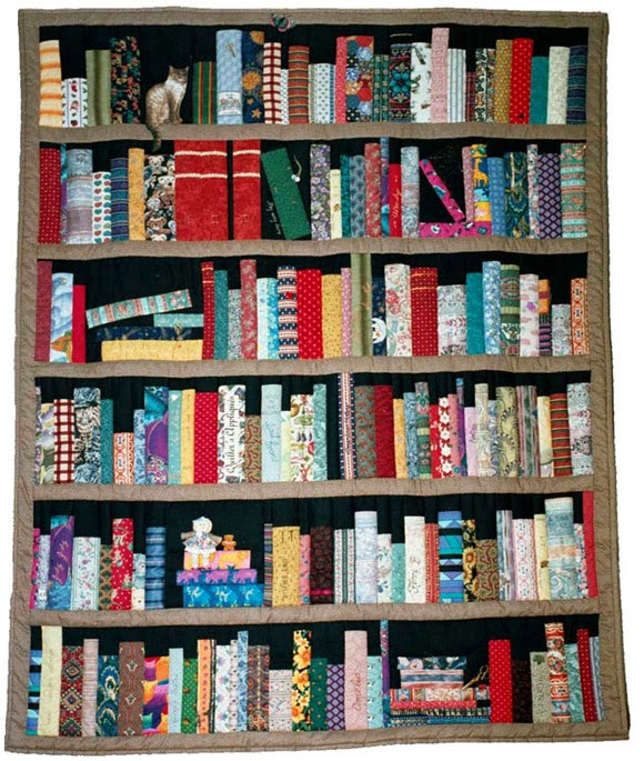 International Stashes Jamies Bookcase Quilt
