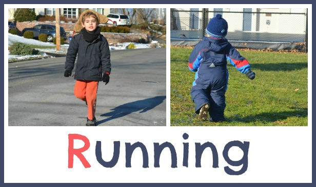 get kids moving with running games