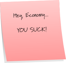 Economy Sticky Note Saturday
