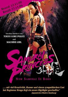 Watch Samurai Princess (Samurai purinsesu: Gedô-hime) (2009) movie free online