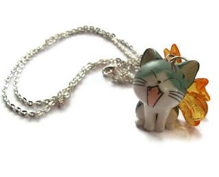 FELICIDADES ANNA... Collar+gato