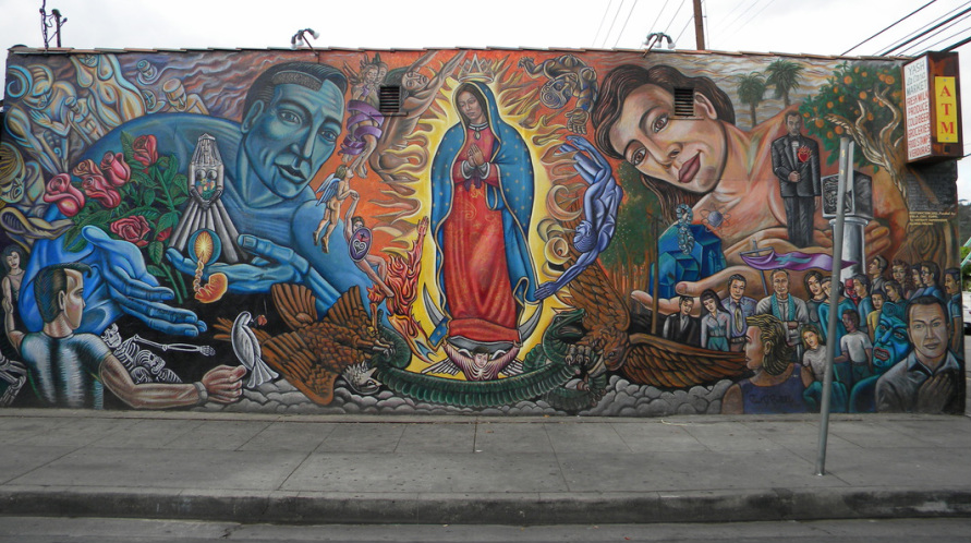 chicano murals in los angeles Mural conservancy of los angeles the murals of this beautiful city are passing the chicano time trip ~first on the #12 bus going to & from high school.