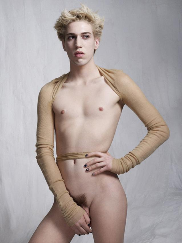 Women Naked intersex