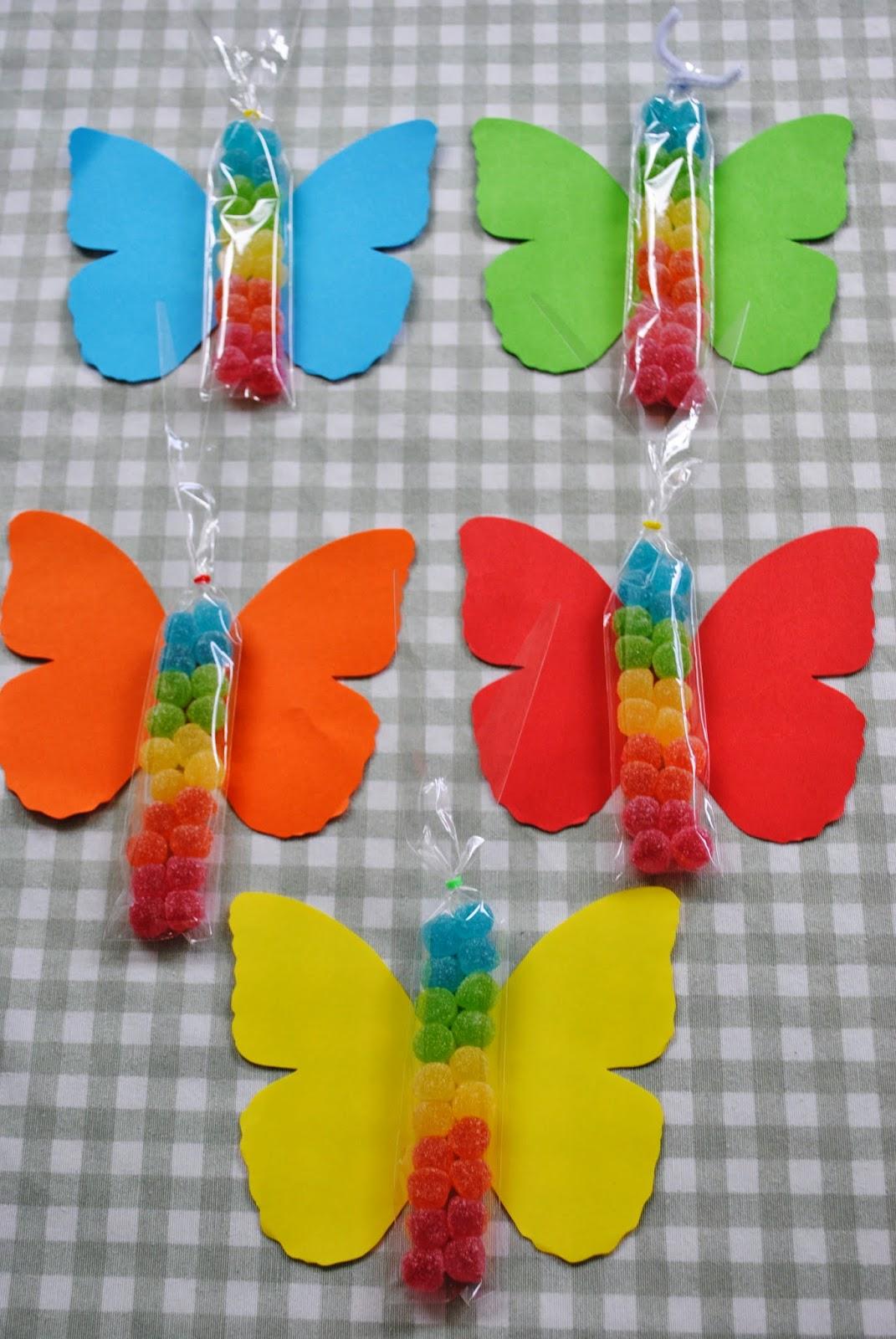 Los detalles de bea las mariposas del cumple de casilda - Detalles para cumples infantiles ...
