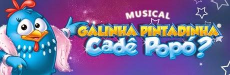 Musical da Galinha Pintadinha em Abril 2014  Vitória ES