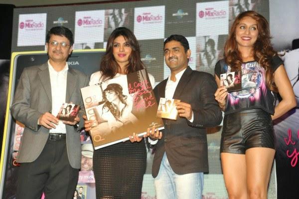 Priyanka Chopra Launch New Album in Mumbai