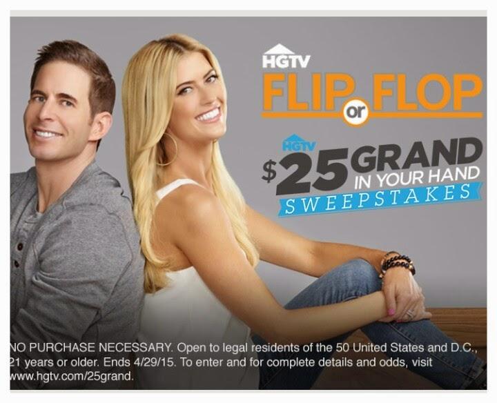 Flip Or Flop, Viggle, Viggle Live, Viggle Trivia, Viggle Mom, HGTV, $25 Grand Sweepstakes