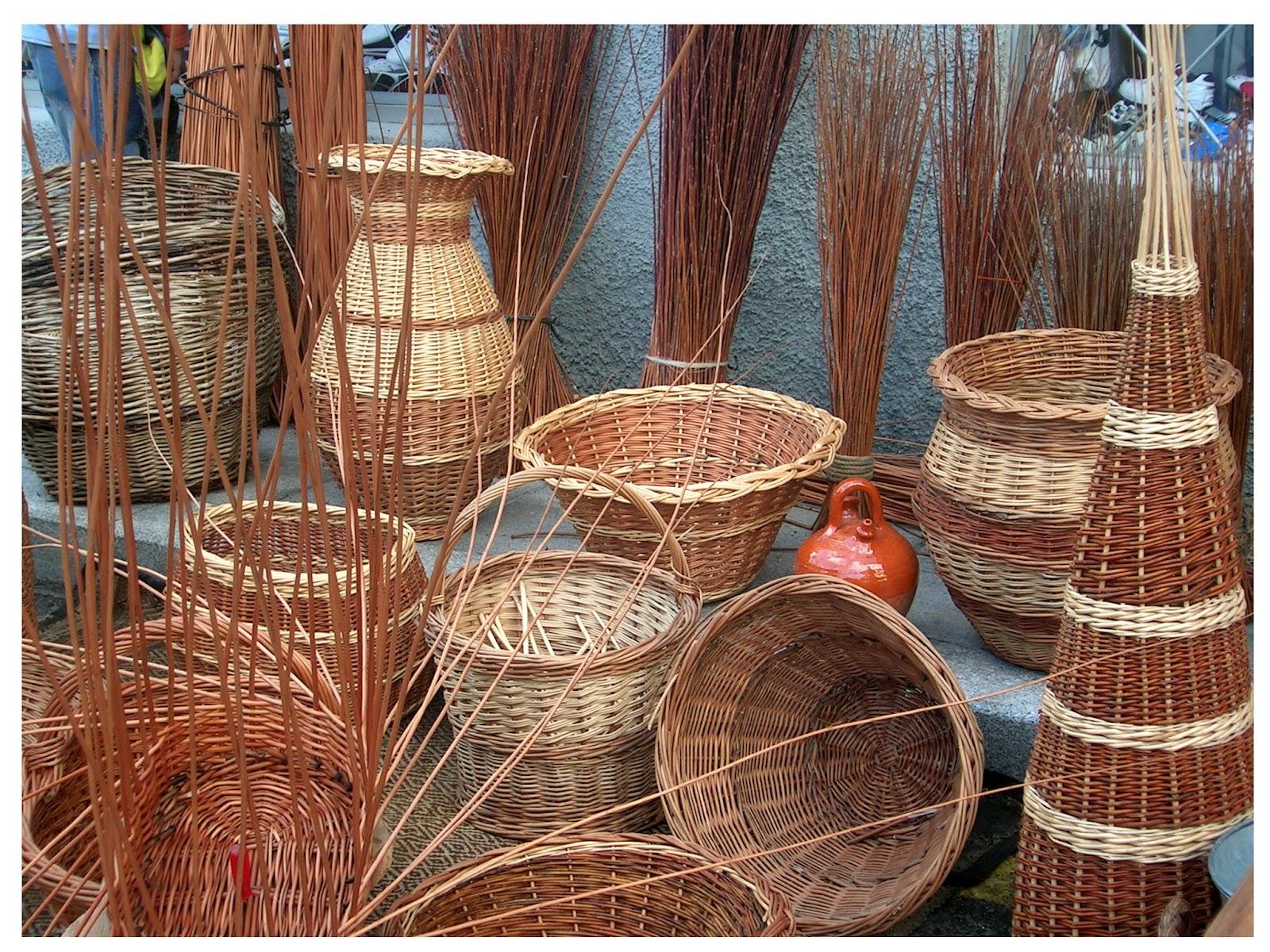 Duende artesano artesan a for Fabrica de canastas de mimbre