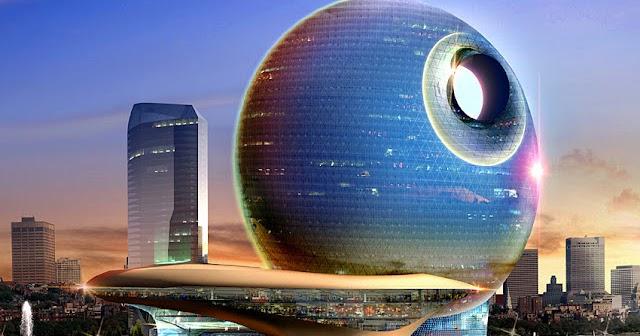 Death Star Hotel In Azerbaijan Is No Moon