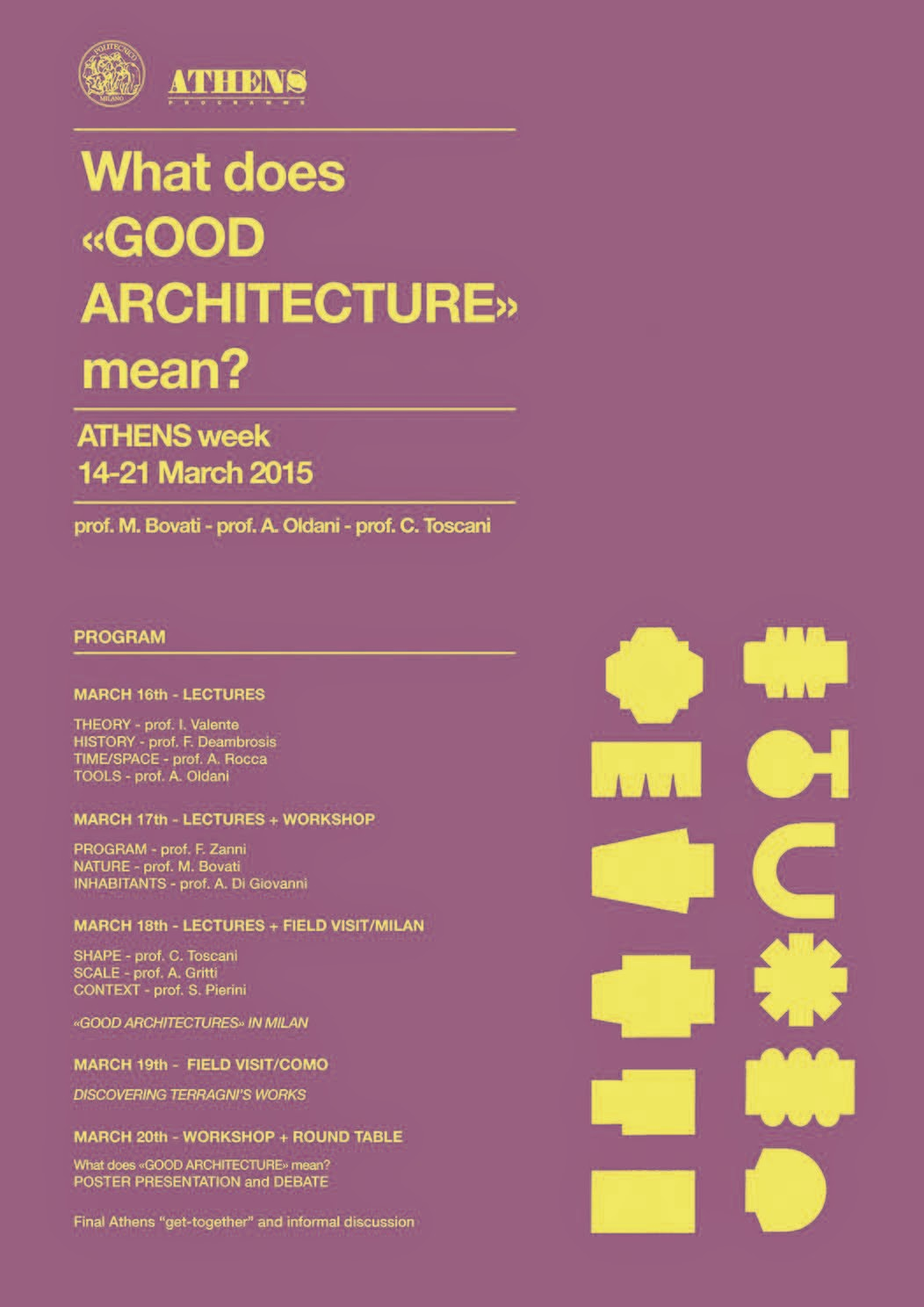 architecture and architecture what does good architecture