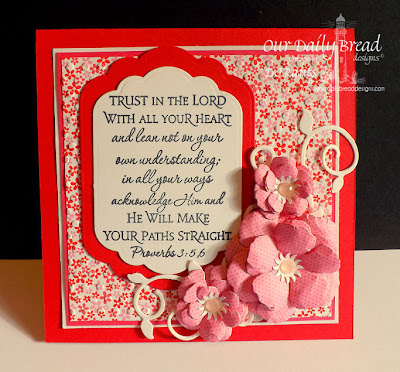 Our Daily Bread Designs, Proverbs 3, Custom Fancy Foliage Die