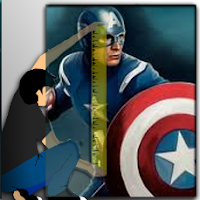 How tall is Captain America (Steve Rogers)?