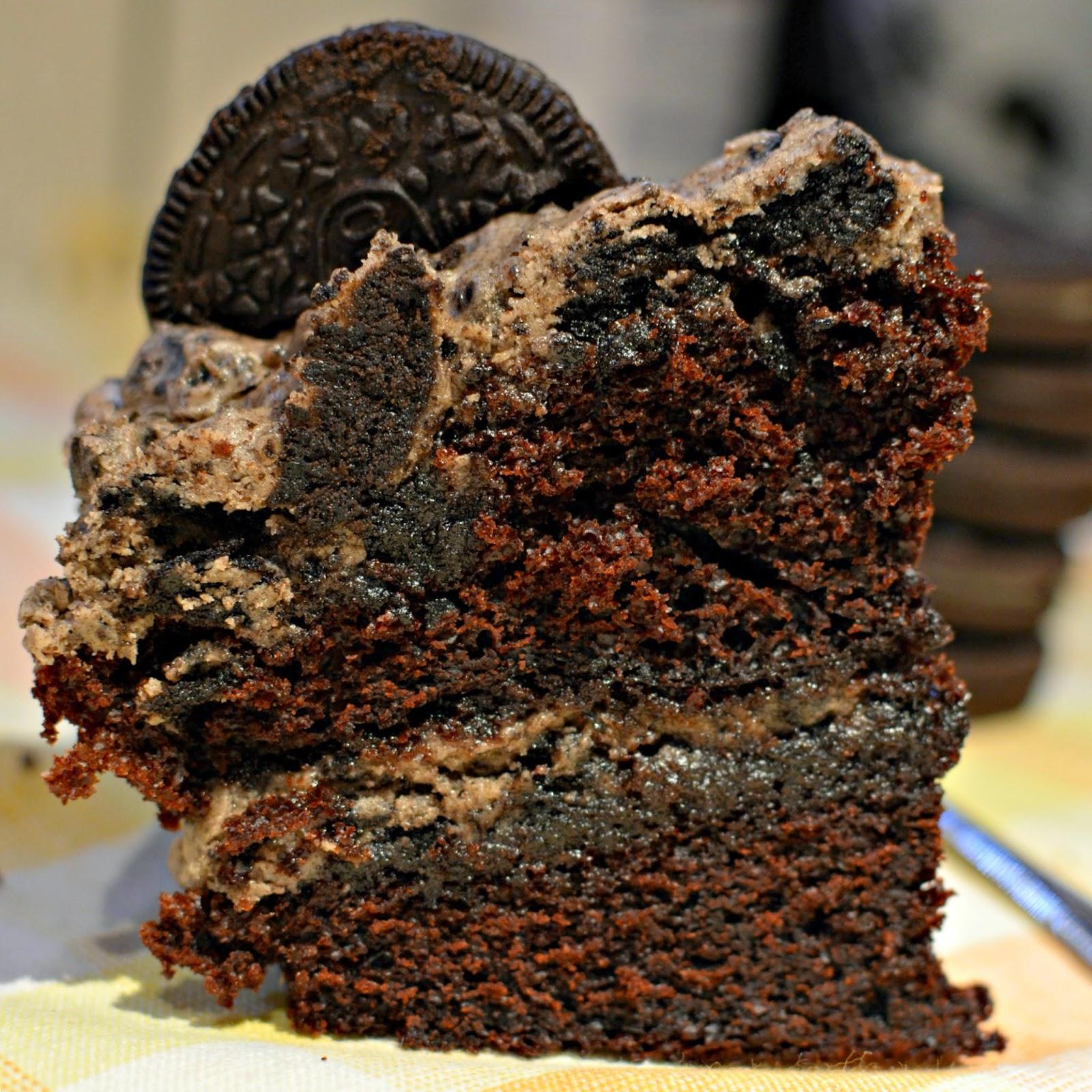 Double stuffed oreo cake recipe