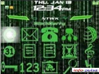 Matrix - BlackBerry Theme