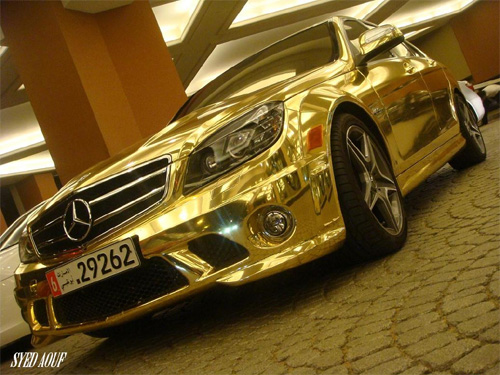 mercedes white gold