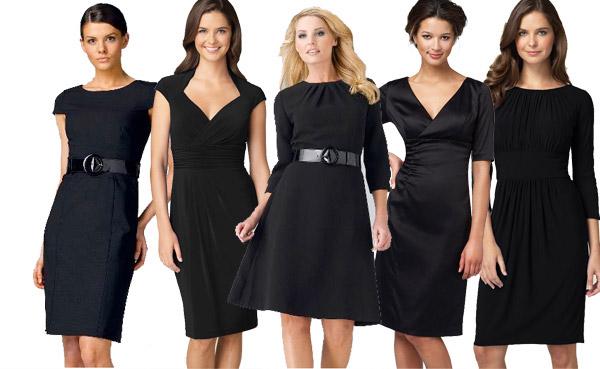 Типы вырезов на платьях