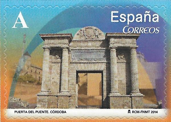 Puerta del Puente de Córdoba, sello