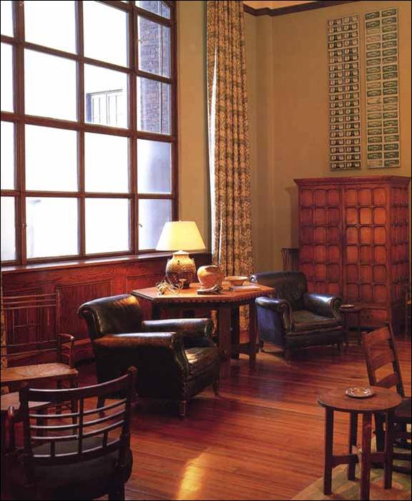 Key interiors by shinay arts and crafts living room for Arts and crafts living room ideas