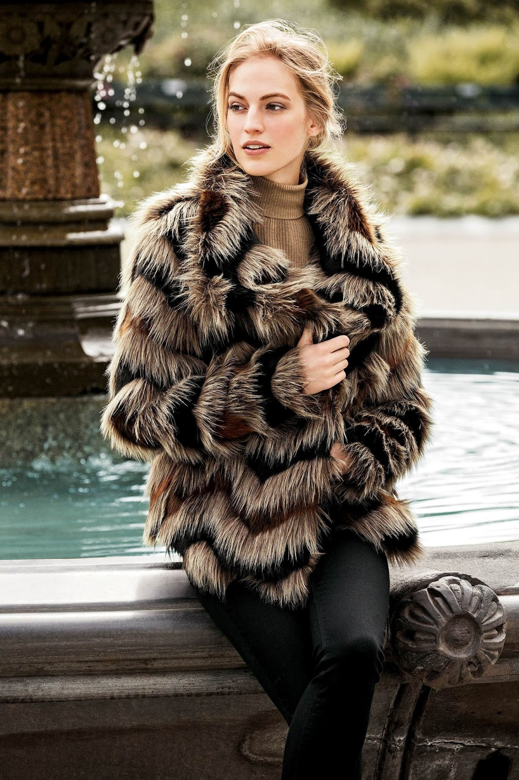Next Faux Fur Coat