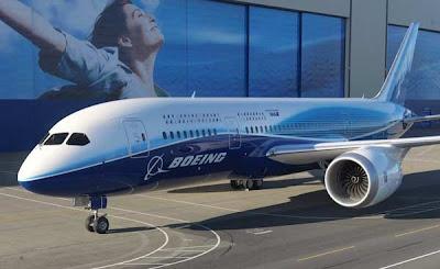 Boeing guna kentang uji isyarat Wi-Fi dalam pesawat
