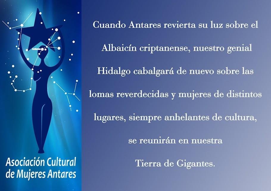 ASOCIACION CULTURAL DE MUJERES ANTARES