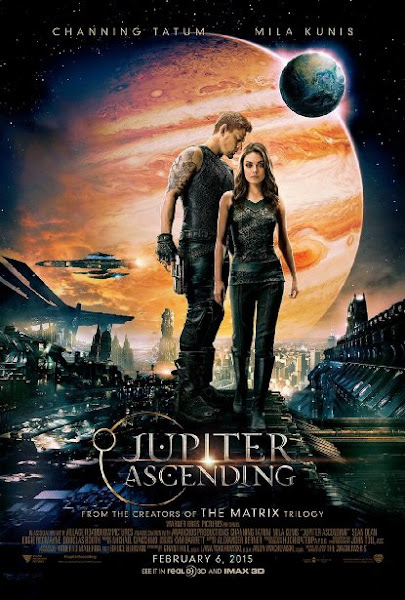 Poster of Jupiter Ascending 2015 720p BluRay English