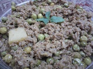 Mince| Peas| Green chilies| Qeema| Aalo Matar Qeema| Beef