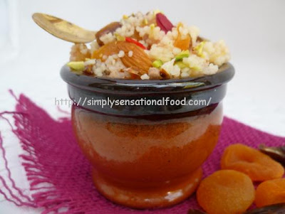 simply.food: Mesfouf ~ Sweet Tunisian style couscous with Dates and ...