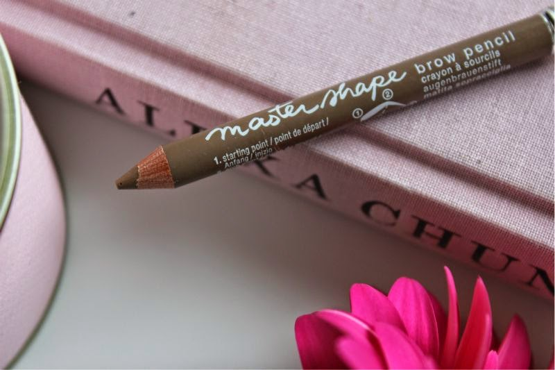 Maybelline Mastershape Brow Pencil in Dark Blonde